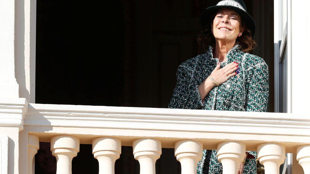 El cambio facial (radical) de Carolina de Mónaco, sí se ha tocado