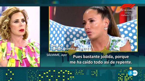 'Sábado Deluxe': Ágatha Ruiz de la Prada machaca a Samira Jalil con esta frase