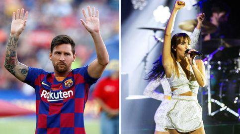 Messi y Aitana, los jefes ideales para los niños y Rosalía, en el calendario Pirelli: el día en fotos