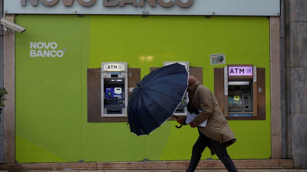 Foto: Oficina de Novo Banco en Lisboa. (Reuters)
