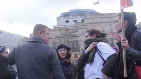 Qué pasa cuando agredes a una mujer en una marcha contra la violencia de género
