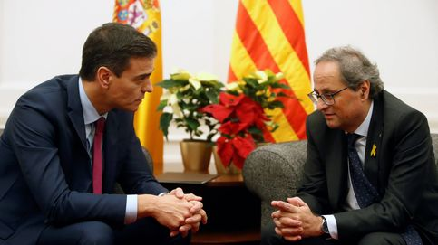 Alto riesgo para Sánchez: el cortejo a Torra para los PGE amenaza la campaña