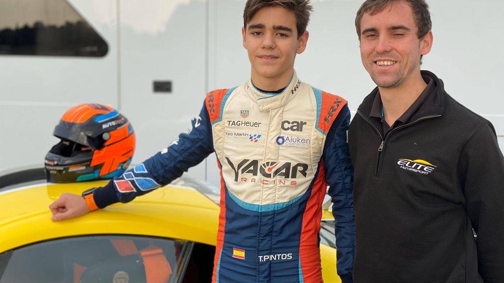 Foto: Tomás Pintos, el joven talento español del automovilismo