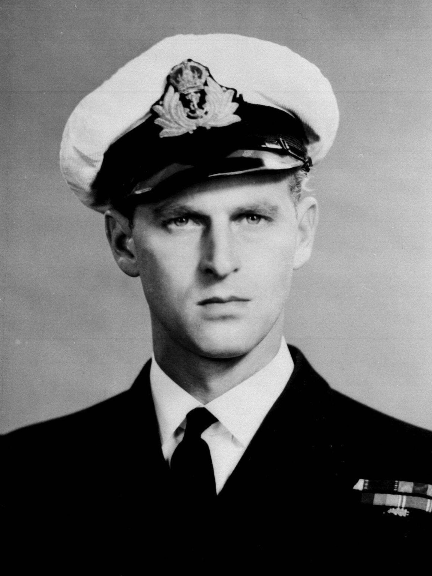 El duque de Edimburgo, con el uniforme de la Marina Real. (Palacio de Buckingham)