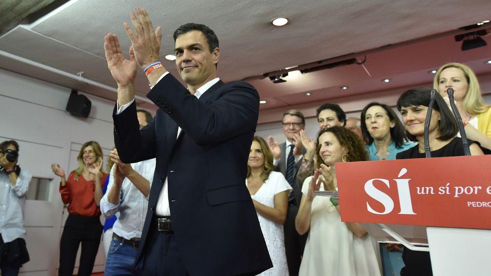 Derrota dulce del PSOE, gracias a Podemos