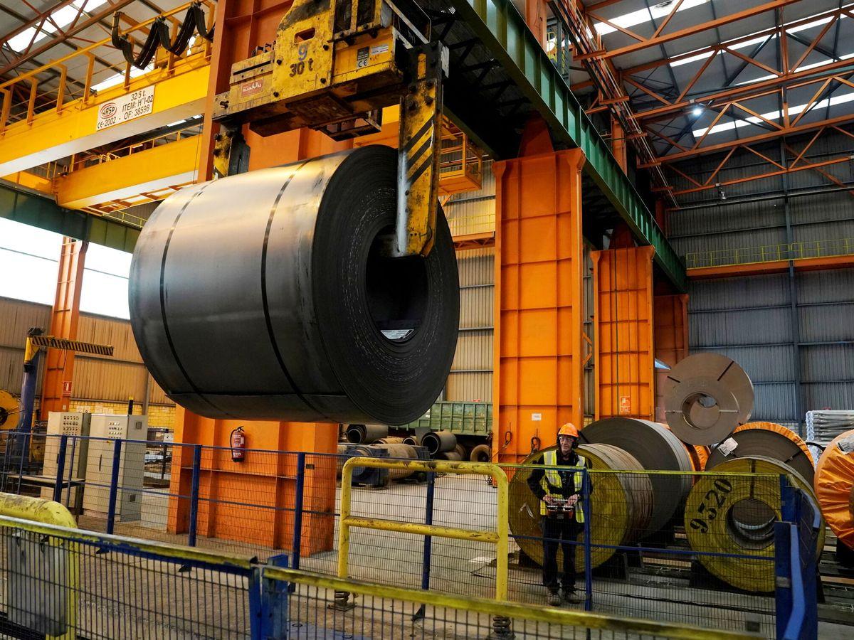 Foto: Planta de ArcelorMittal en Sestao (Vizcaya). (Reuters)