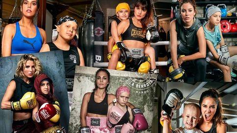 Paula Echevarría, Pataky y otros famosos que se suben al ring del calendario Resistiré 2018