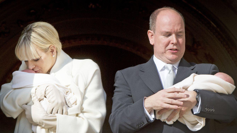 Mónaco se vestirá de gala el 10 de mayo para el bautizo de los príncipes Jacques y Gabriella