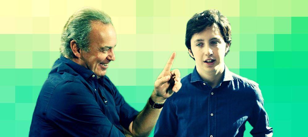 Foto: Bertín Osborne y el pequeño Nicolás.
