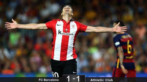 El Athletic de Aduriz muerde otra vez al Barcelona y gana su segunda Supercopa