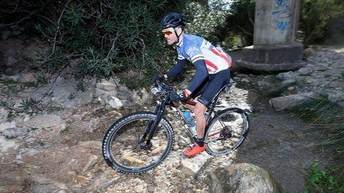 Luis Enrique reaparece en una prueba de ciclismo de montaña