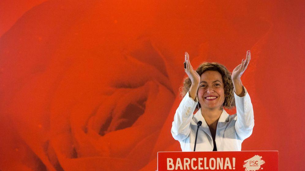 Foto: La nueva ministra de Política Territorial y Función Pública y secretaria de Impulso Federal del PSC, Meritxell Batet, este 9 de junio en Barcelona. (EFE)