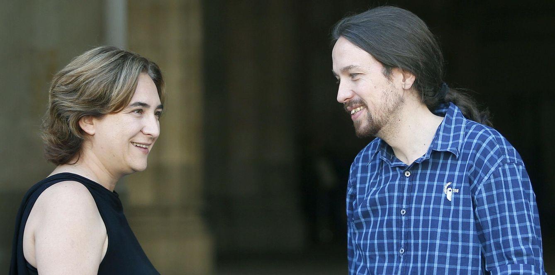 La alcaldesa de Barcelona, Ada Colau, participará en actos con Iglesias. (EFE)