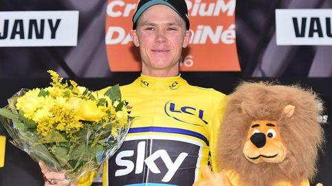 Zarpazo de Froome para quitarle el amarillo a Contador en el Dauphiné