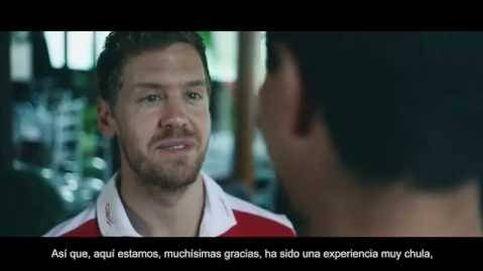 Vettel y Enhamed en su carrera diaria