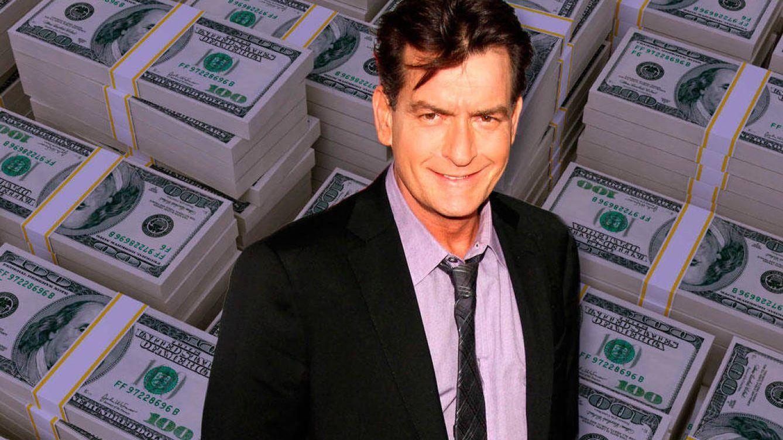 Foto: Charlie Sheen en un fotomontaje realizado en Vanitatis