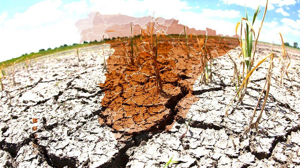 Foto: El incremento de temperaturas de España en 2050. (Imagen: EC/EFE)