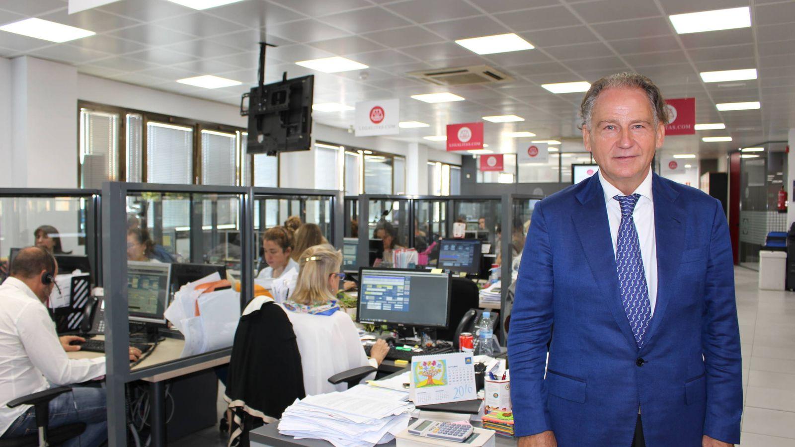 Foto: Alfonso Carrascosa, presidente de Legálitas.