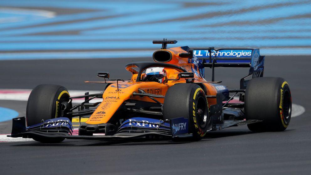 McLaren brilla en el dominio de Mercedes y acaba por delante de los Red Bull
