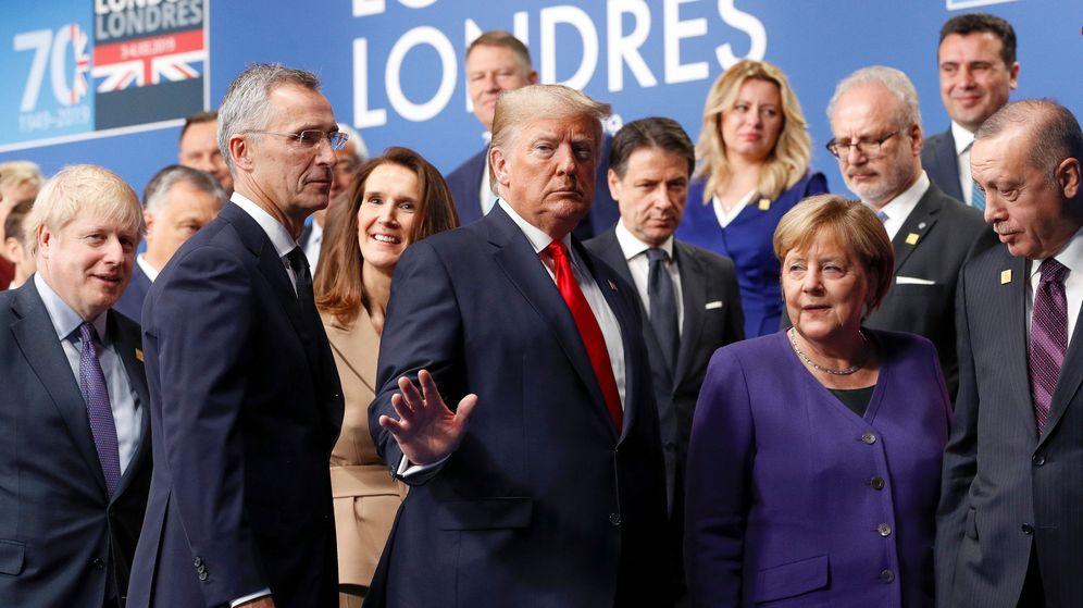 Foto: Los líderes de la OTAN en la cumbre de Londres esta semana. (Reuters)