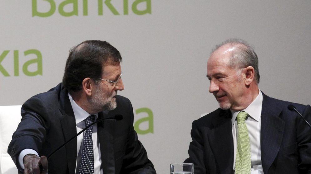 Foto: El presidente del Gobierno con Rodrigo Rato en una imagen de archivo. (Reuters)