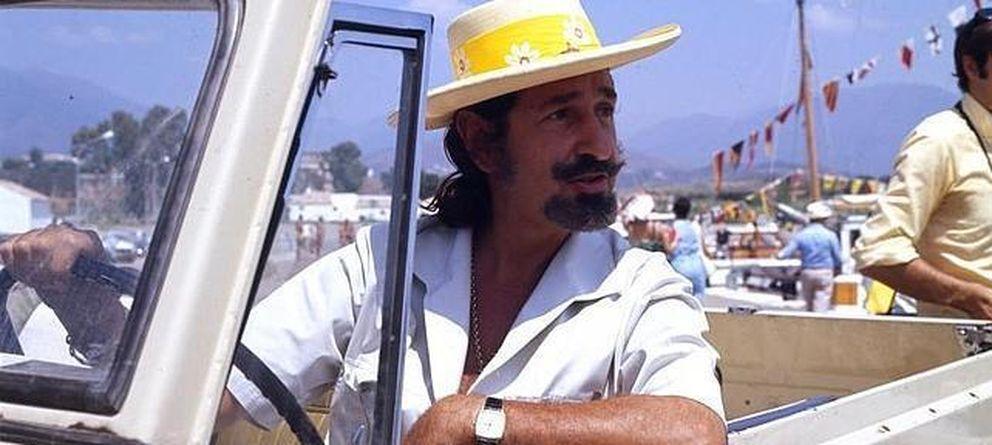 Foto: Jaime de Mora y Aragón, en una imagen de archivo durante el rodaje de una película (Gtres)