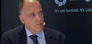 Post de Más lío en la Liga: Tebas suspende el Depor-Fuenla y el club madrileño niega su autoridad