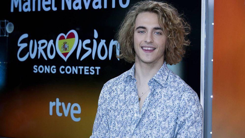 Foto: Manel Navarro a Eurovisión 2017