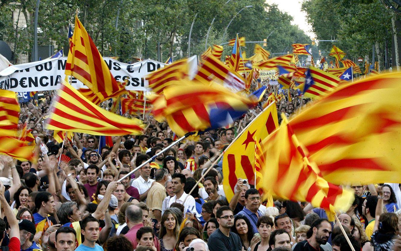 Manifestación contra la sentencia del TC sobre el Estatuto de Cataluña. (Efe)