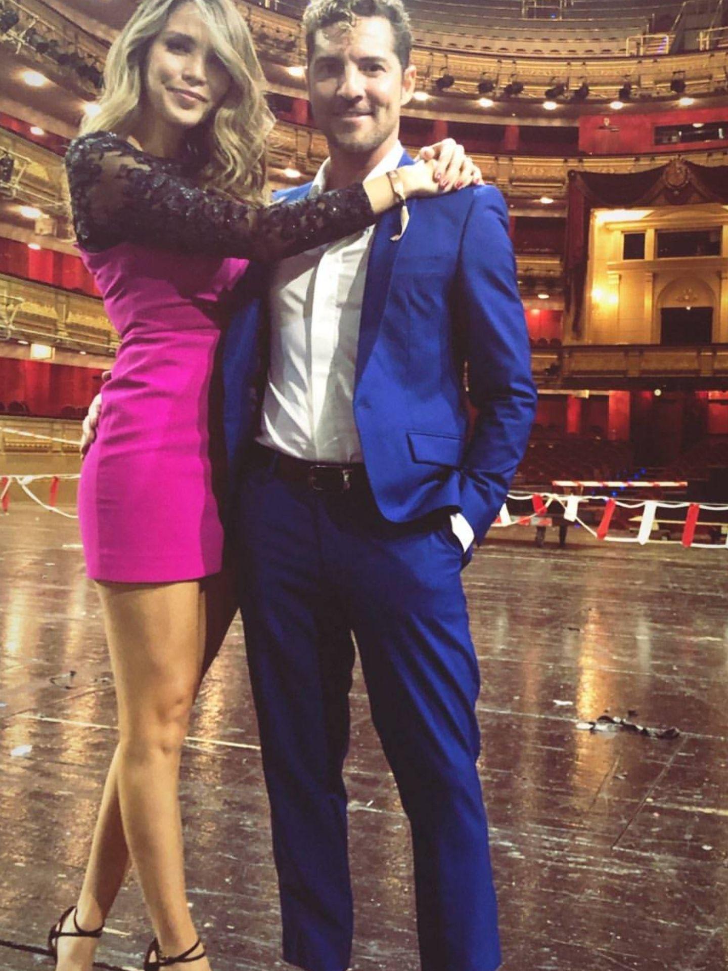 David y Rosanna, en el Teatro Real. (IG)
