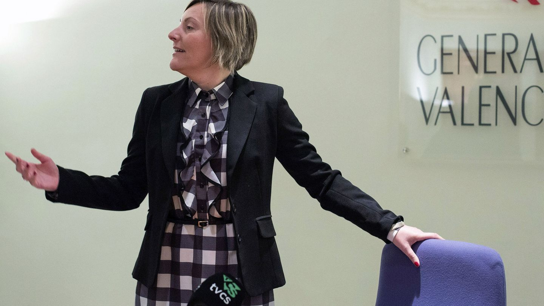 María José Salvador, 'consellera' valenciana de Vivienda y Obras Públicas. (EFE)