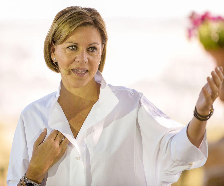 La secretaria general del PP, María Dolores de Cospedal. (EFE)