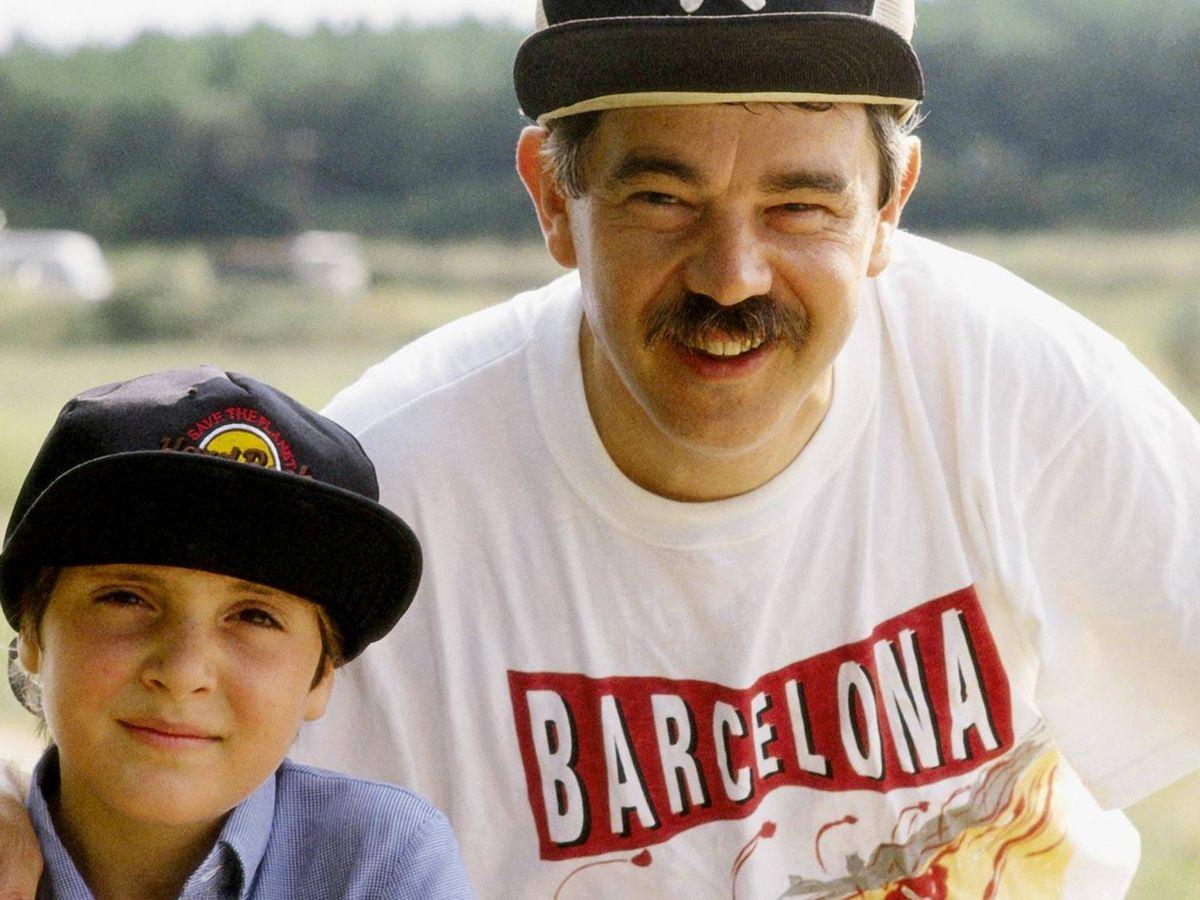 Foto: Pasqual Maragall y su hijo Guillem, en una imagen de archivo. (Getty)