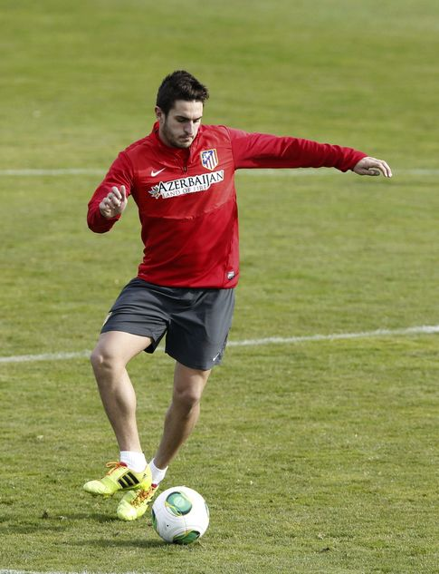Foto: Koke, con 22 años, es ya un referente del Atlético de Madrid.