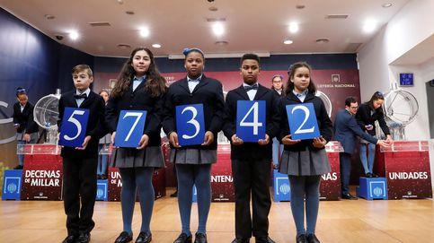 Sale el primer premio de la Lotería del Niño: el 57.342 reparte 200.000 euros al décimo