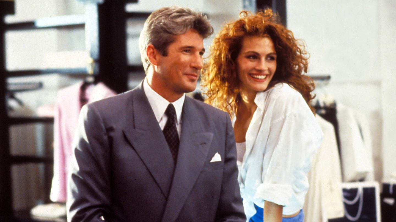 Julia Roberts y Richard Gere protagonizan la comedia 'Pretty Woman'.