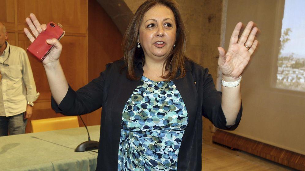Foto: La directora del Patronato de la Alhambra y Generalife, María del Mar Villafranca. (EFE)