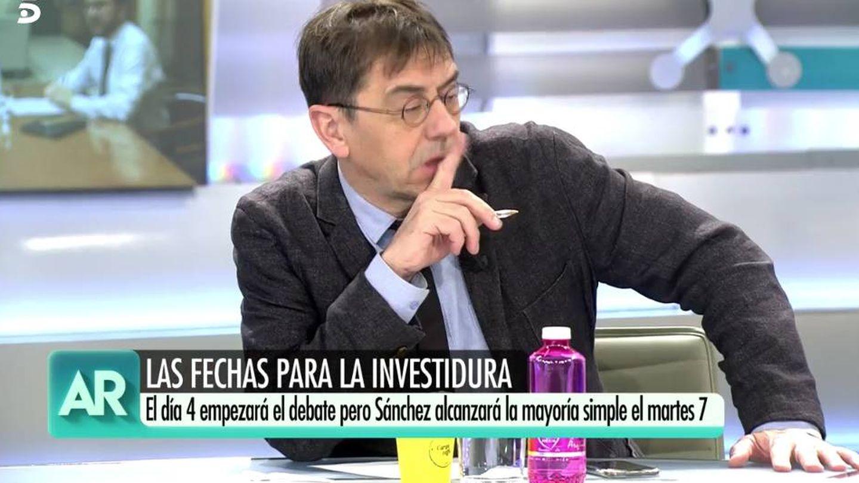 Juan Carlos Monedero. (Captura de Mediaset)