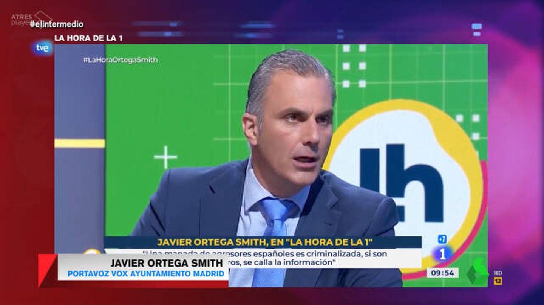 Ortega Smith, secretario general de Vox. (La Sexta)
