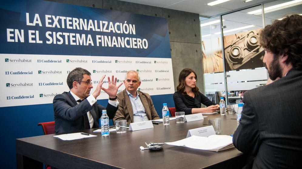 Foto: Mesa redonda organizada por El Confidencial y Servihabitat. (C. Castellón)