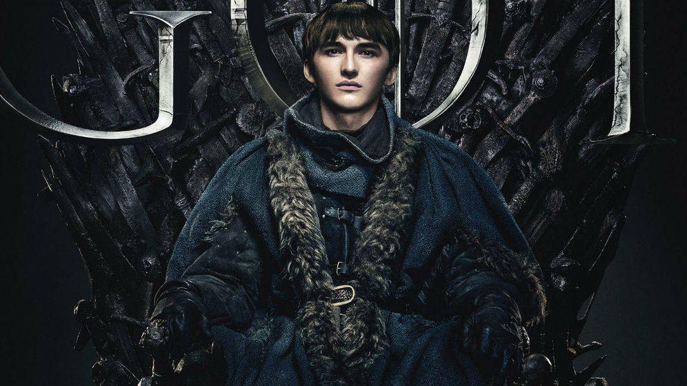 Foto: Bran, en el Trono de Hierro en 'Juego de tronos'. (HBO)