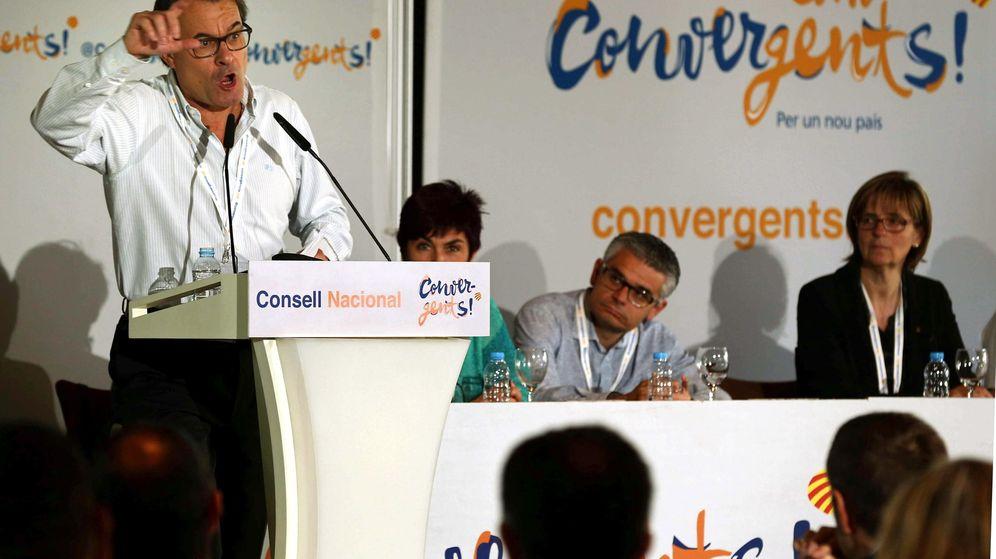 Foto: El presidente catalán en funciones y líder de CDC, Artur Mas. (EFE)
