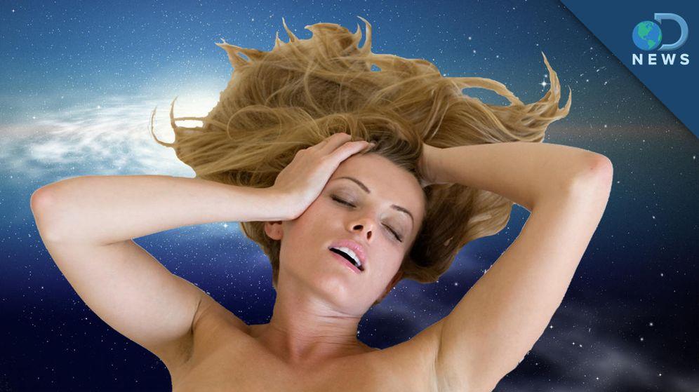 Foto: Imagen del documental 'Sexo en el espacio: ¿cómo se hace?' del canal Discovery