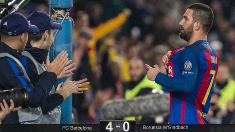 De las tres narices de Luis Enrique a los tres goles de Arda, su cabeza de turco