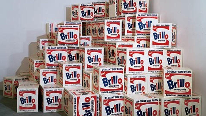 Cajas de detergente Brillo, de Andy Warhol.