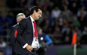 Emery se muestra satisfecho porque sus jugadores han competido ante el Madrid