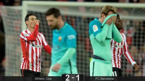 El cabreo de Messi con Fernández Borbalán no puede con un enorme Athletic