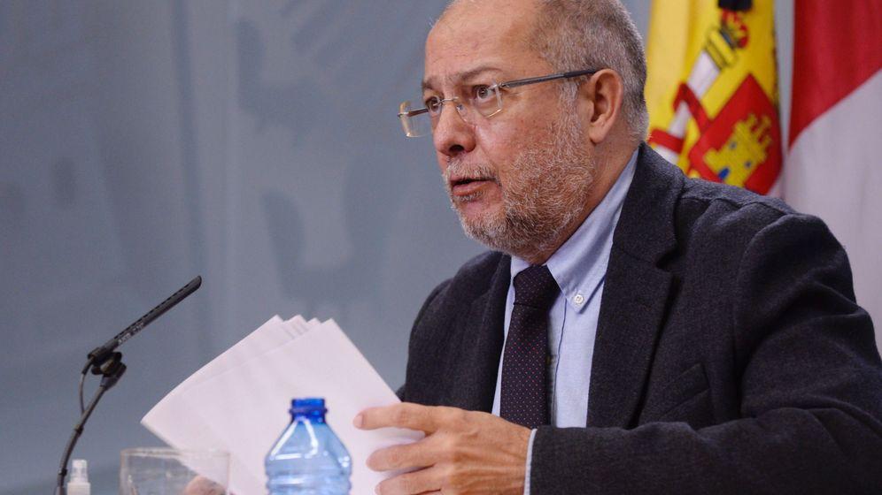 Foto: El vicepresidente y portavoz de la Junta de Castilla y León, Francisco Igea. (EFE)