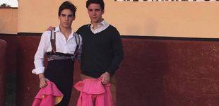 Post de Froilán se estrena como torero en Toledo