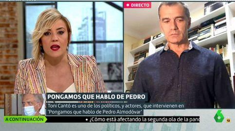 El rostro de Cristina Pardo por el insulto de Toni Cantó a Pedro Sánchez